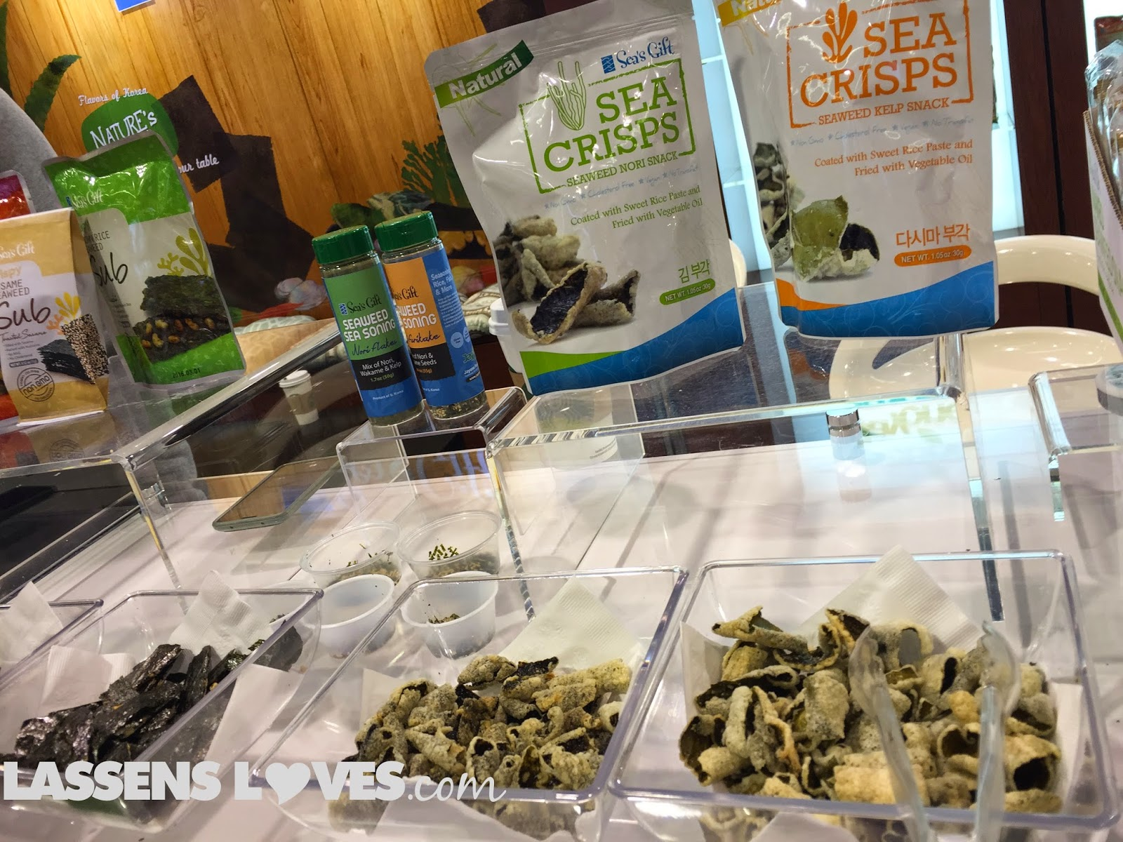 Expo+West+2015, Natural+Foods+Show, New+Natural+Products, Sea's+gift, sea+crisps