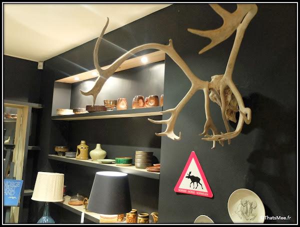 Jippi Design norvégien Peaux mouton bois de renne meuble fauteuil scandinave ceramique pop-up store rue des blanc manteaux Marais Paris