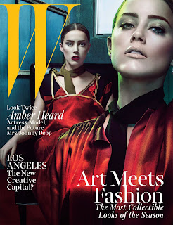 Amber Heard Hot PhotoShoot For W Magazine (July 2014)