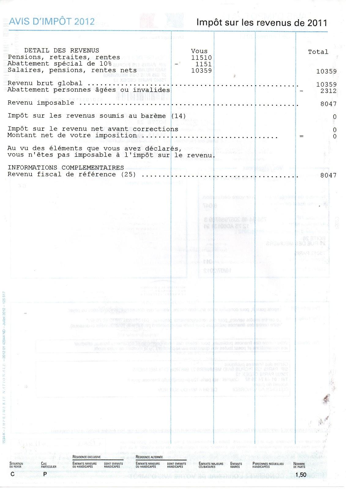 Demande d'aide juridictionnelle pour appel 19 sept 2012