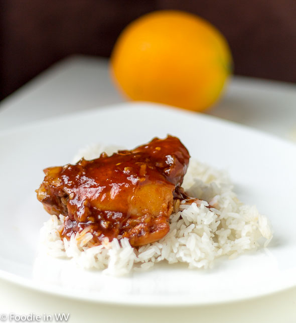 Click for Recipe for Asian Chicken Thighs