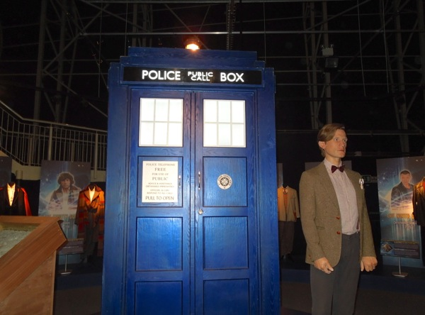 Matt Smith 11th Doctor Who TARDIS