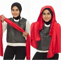 Tutorial Hijab Turban Tumpuk