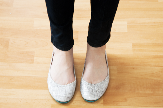 tieks by gavrieli alpine grey croc foldable ballet flats footwear fall 2012 style