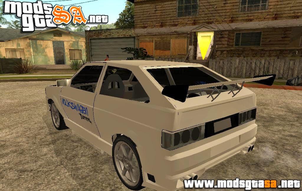 SA - Vw Gol GTI 1994 Tunado