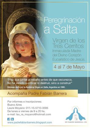 Peregrinación a Salta: mayo 2017