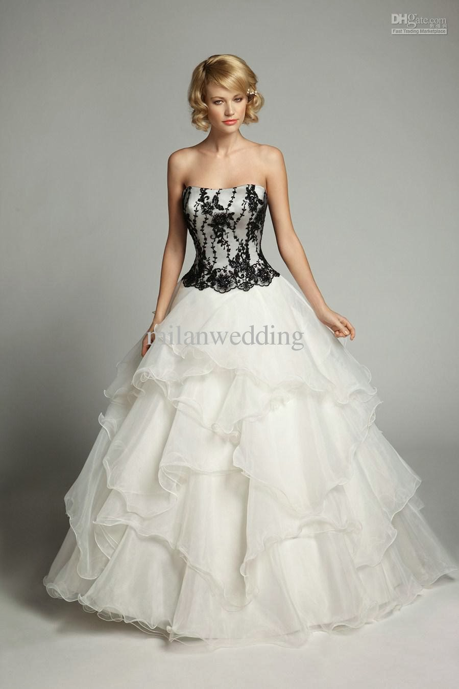 Not white wedding dresses cheap wedding dresses for Design my perfect wedding dress