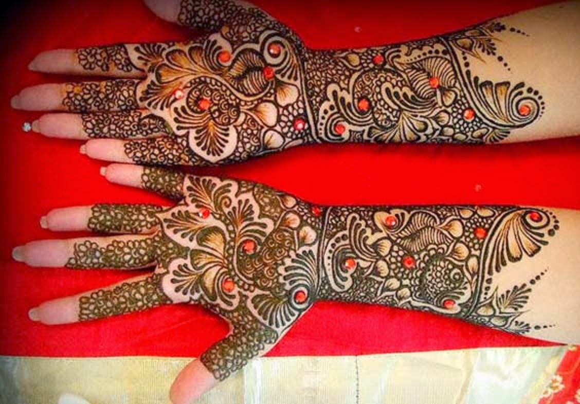 Mehndi Designs Hands S Free Download : Bridal mehndi designs latest fancy hand design