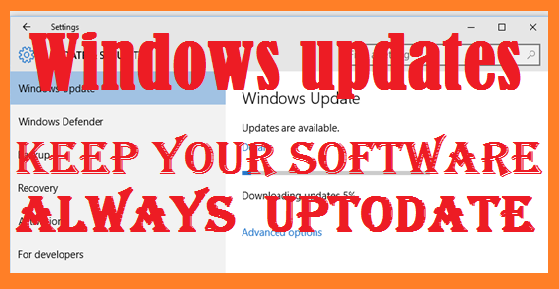 Windows Updates-understanding windows updates
