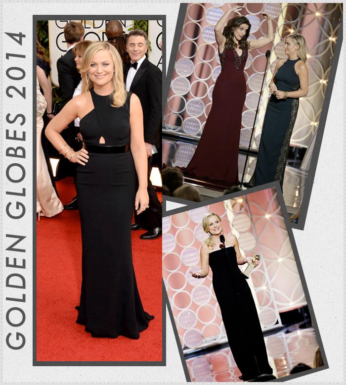 Golden Globes 2014 style, Amy Poehler, Tina Fey