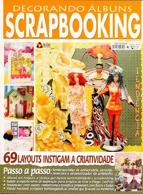 Revista Decorando Álbuns Ano 8, ed. 32 Março/2011