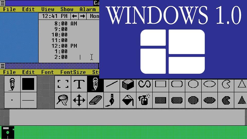 Windows 1.0, Microsoft