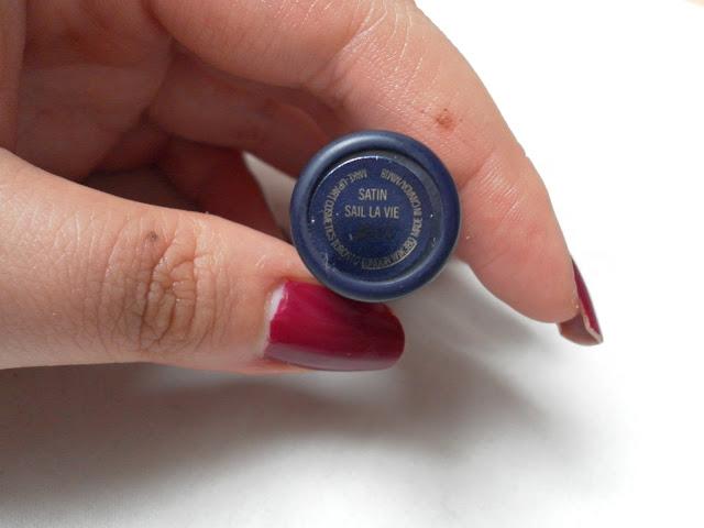 A picture of MAC Hey Sailor Collection Sail La Vie Lipstick