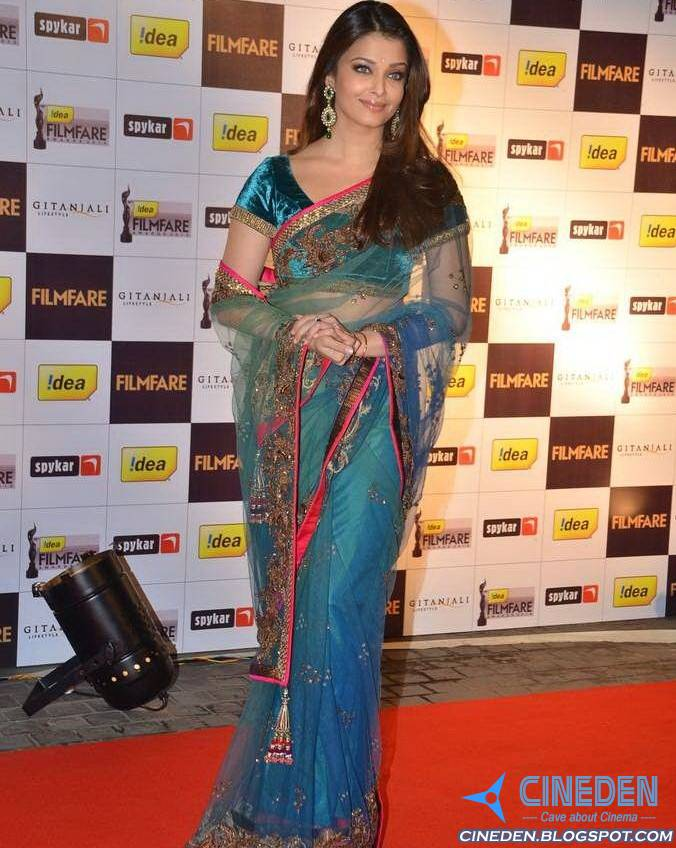 Aishwarya Rai Bachchan at 56th Filmfare Awards 2010 Nominations Bash - CineDen