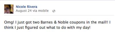FB Status B&N