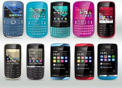 اسعار موبايلات نوكيا اشا في مصر بتاريخ اليوم , احدث واجدد سعر لهواتف nokia اشا في مصر 2014 من اشهر واكبر المحلات والتوكيلات