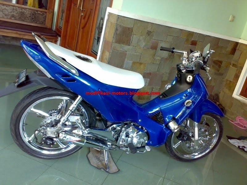 Modif Modifikasi Motor Honda Supra X title=