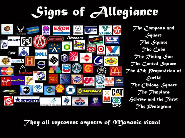hidden illuminati symbols in logos
