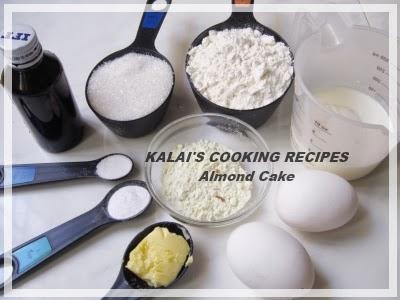 Almond Cake   பாதாம் கேக்   Badam Cake - Christmas - New Year Special Cake