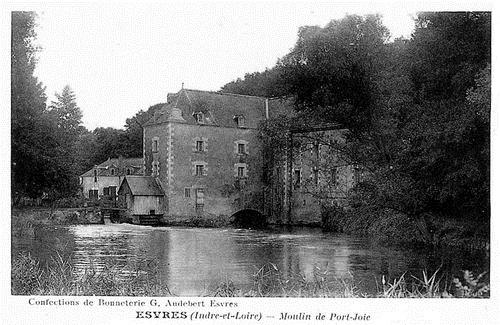 Tourainissime esvres sur indre - Le port du moulin champtoceaux ...