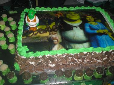 Bolo do Shrek