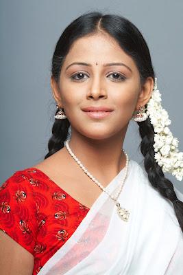 subhiksha in half saree spicy shoot photo gallery