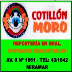 COTILLÓN MORO