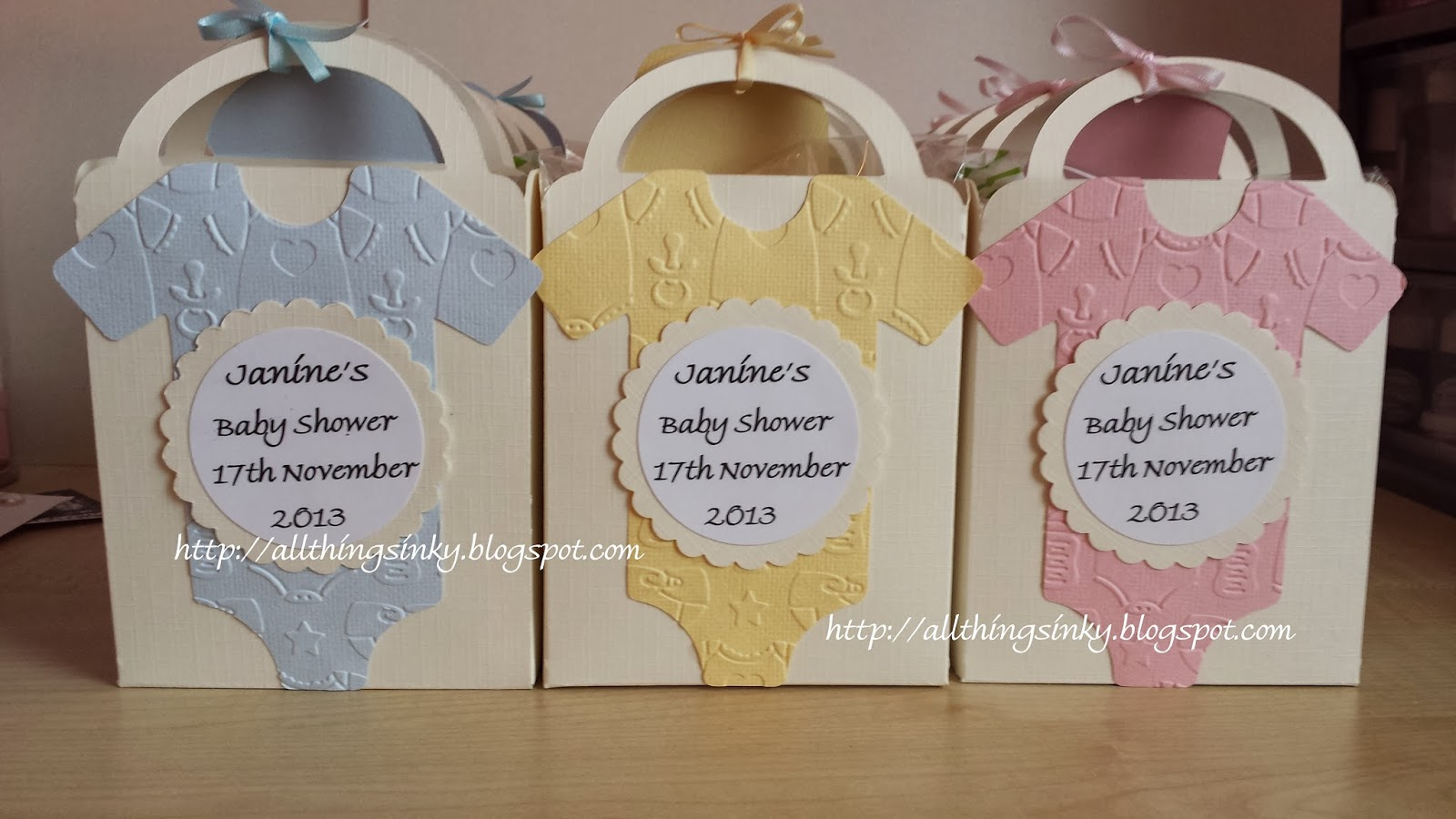 Allthingsinky Baby Shower Favour Bags