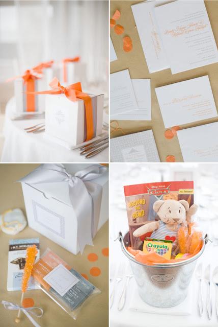semplicemente perfetto wedding arancione bianco