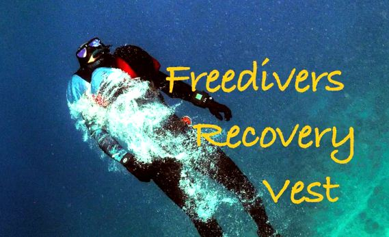 Freedivers recovery vest - FRV