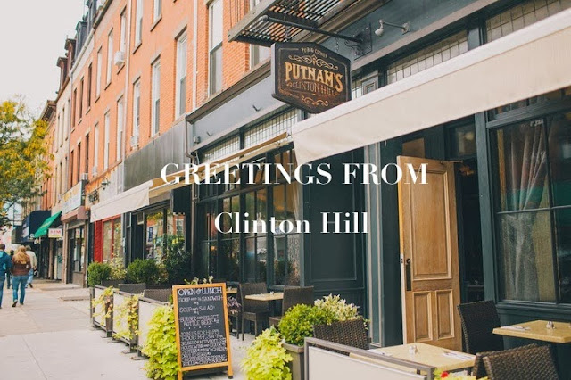 Greetings! From Clinton Hill