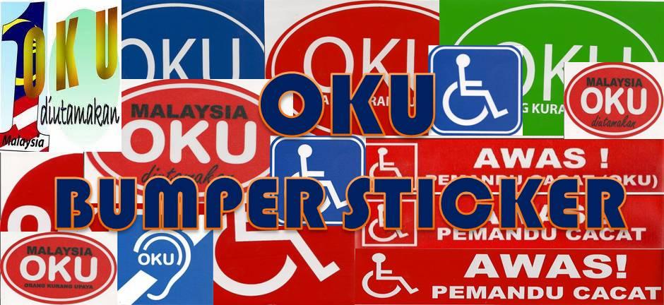 OKU Bumper Sticker