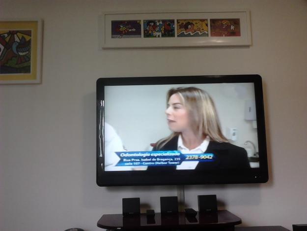 Fotos De Sala Com Tv Lcd Na Parede ~  com Suportes Fixo, disponível para TVs LED, Plasma ou LCD até 32