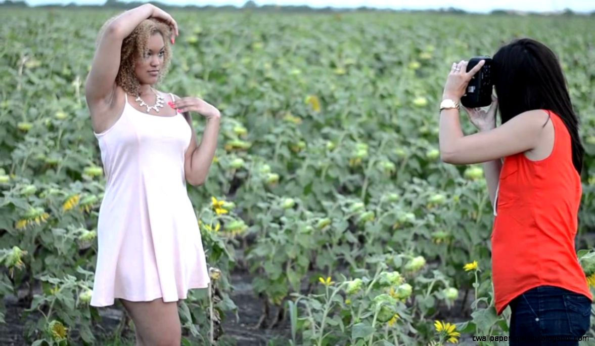 Sunflower Field Photoshoot   YouTube
