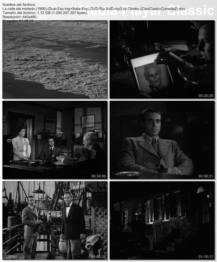 Imagenes de la película; La calle del misterio | 1950 | Mystery Street