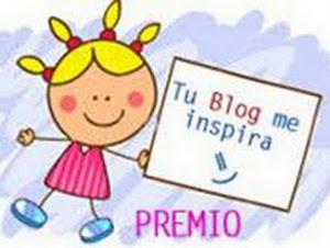 """Premio """"Tu blog me inspira!"""