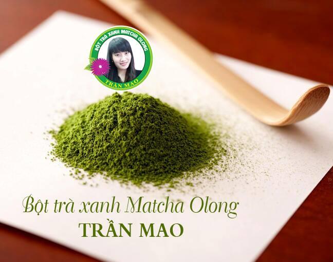 Kết quả hình ảnh cho bột trà xanh trần mao