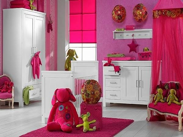 Image chambre bébé fille