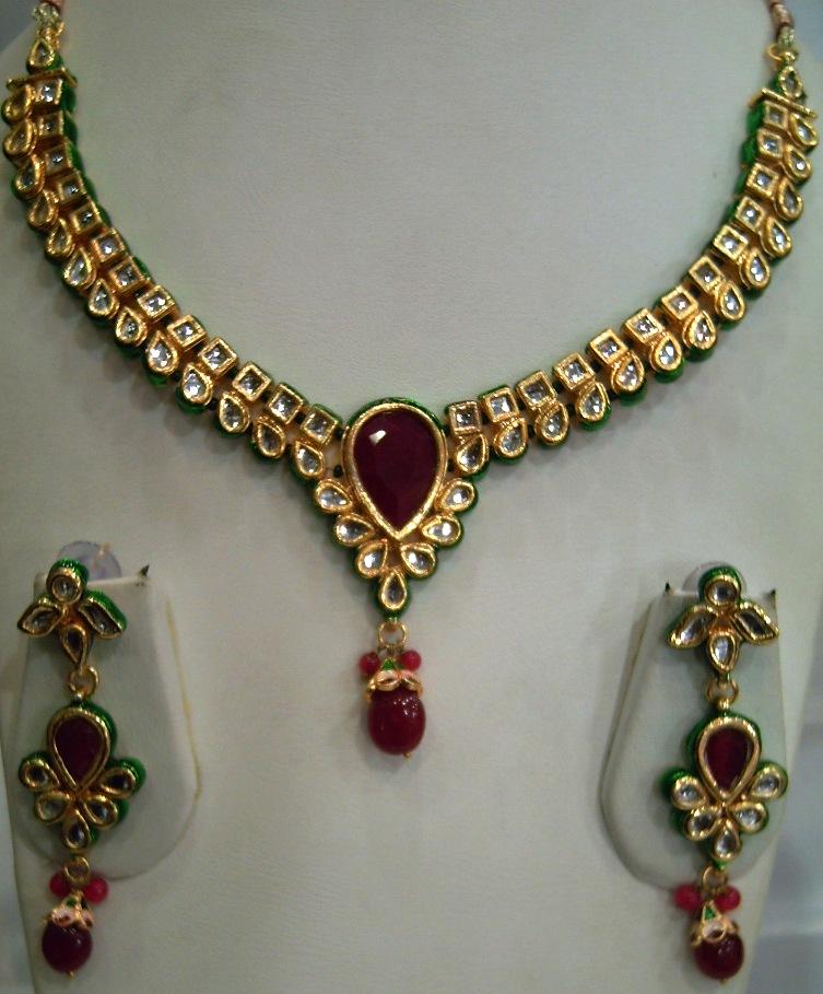 Kundan Jewelry Set: All Fun Stuff: Beautiful Kundan Jewellery Sets