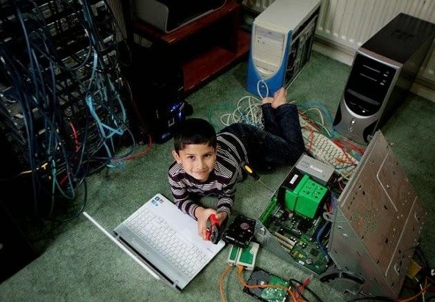 Ayan Qureshi montou seu proprio computador