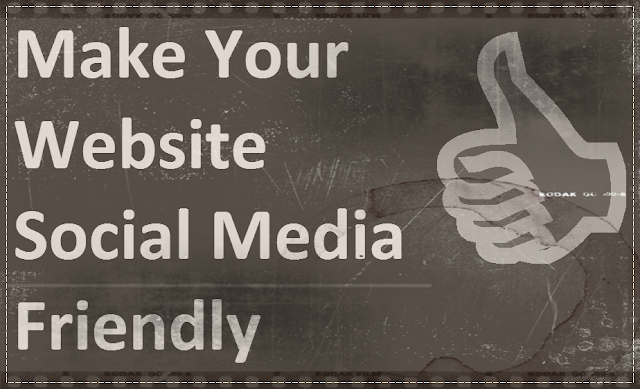 How To Make Your Website Social Media Friendly: image