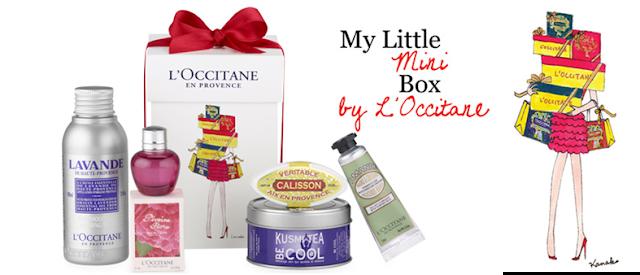 Mini Box de Noël by L'Occitane gratuite pour tout achat