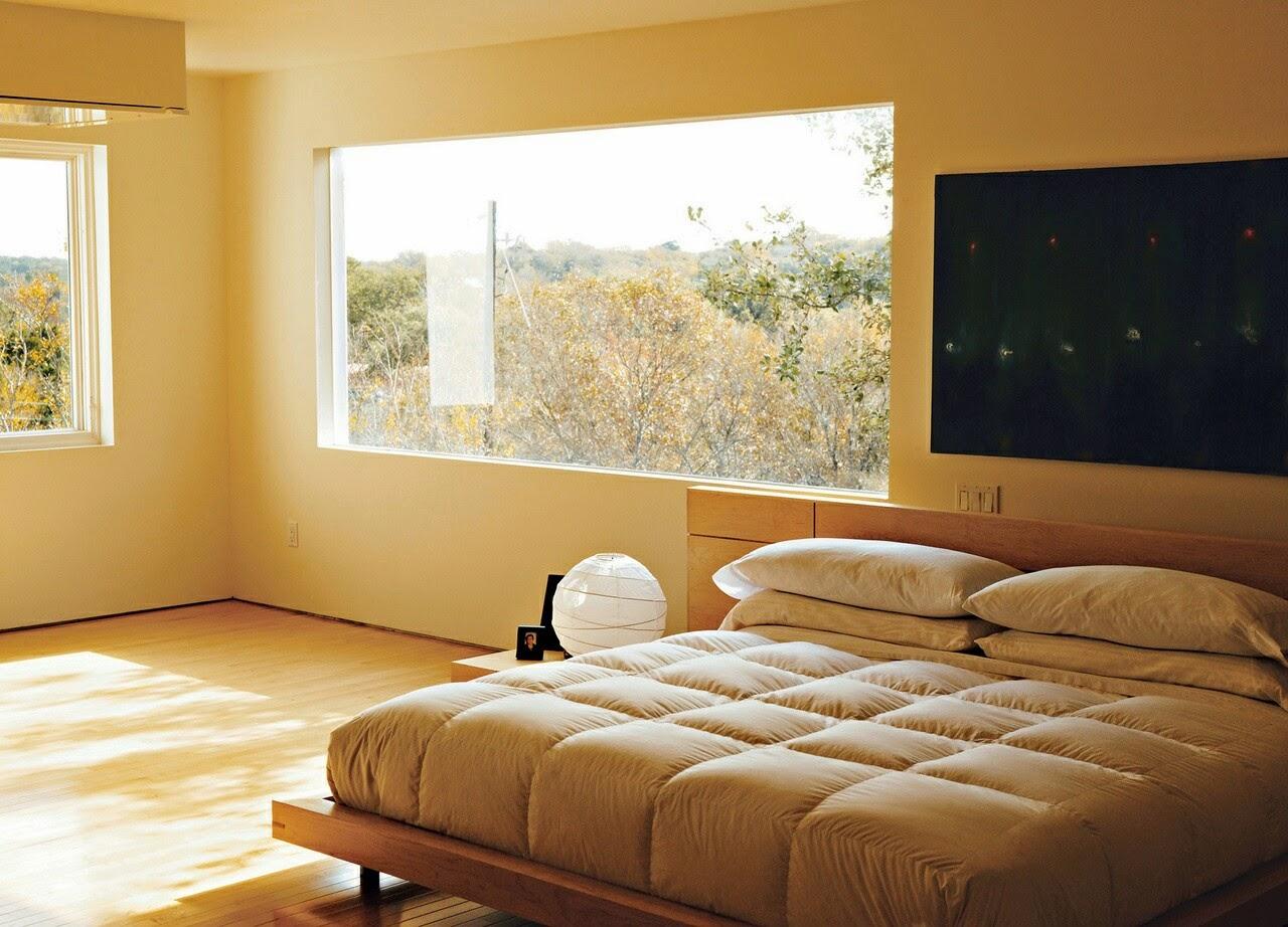 contoh gambar desain kamar tidur minimalis modern 2014