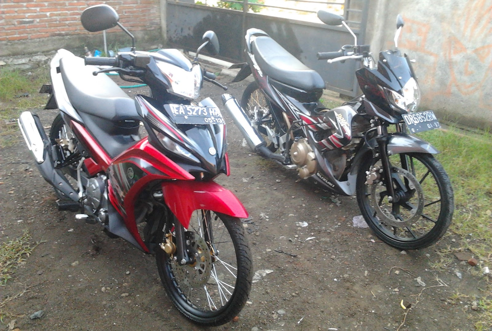 Gambar Modif Motor Jupiter Mx New Modifikasi Motor Yamaha 2016  2017