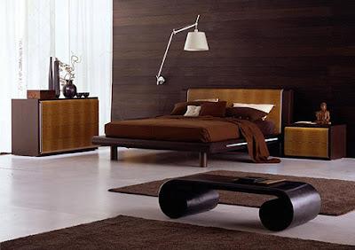 color chocolate habitación