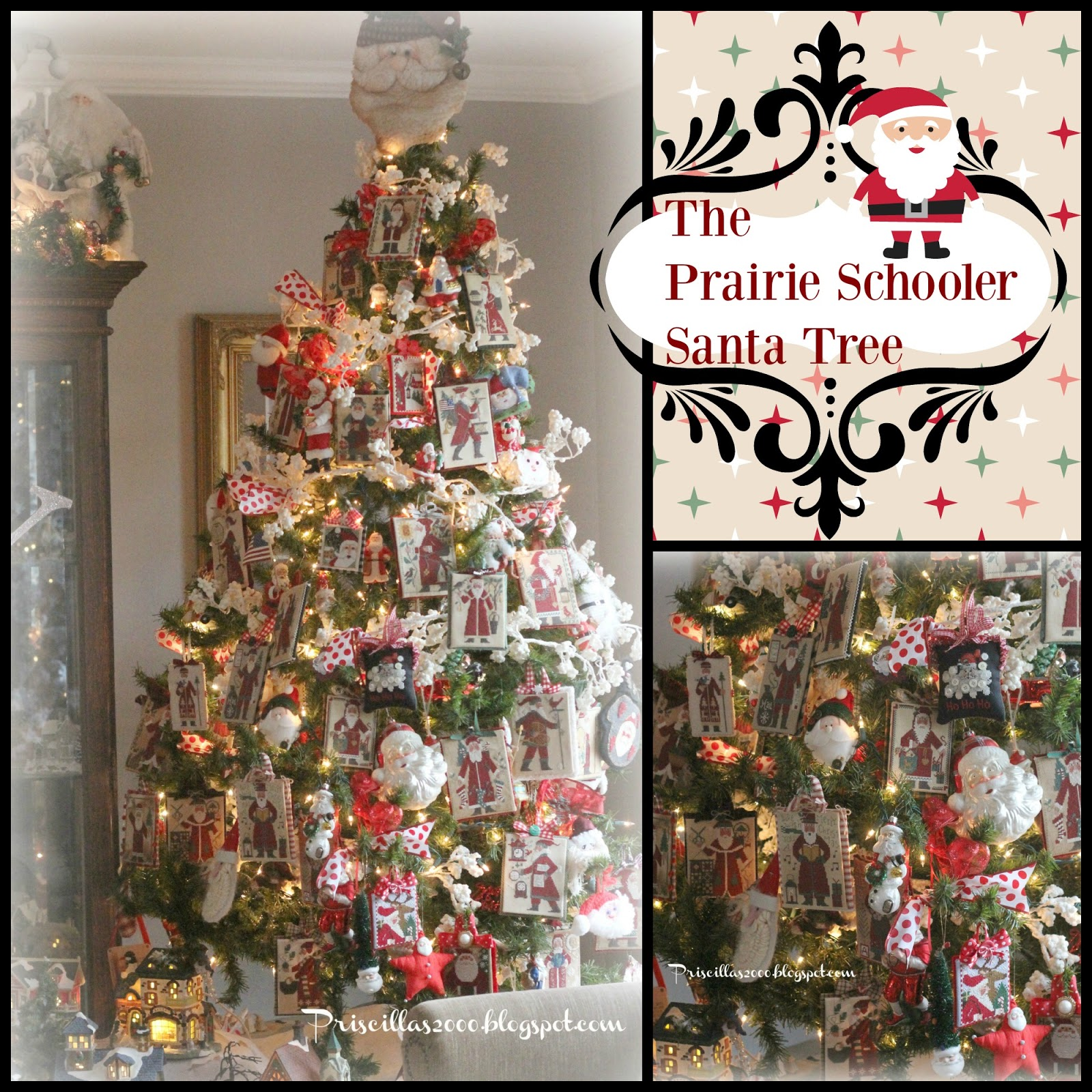 the prairie schooler santa tree - Santa Trees