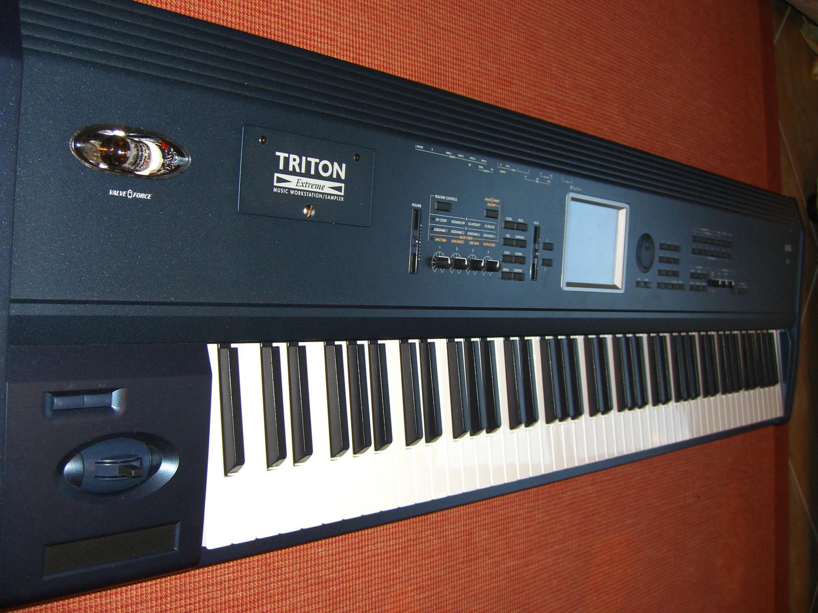 matrixsynth b korg triton extreme 88 keyboard workstation synthesizer rh b matrixsynth com korg triton extreme 88 review Korg Triton Extreme 61