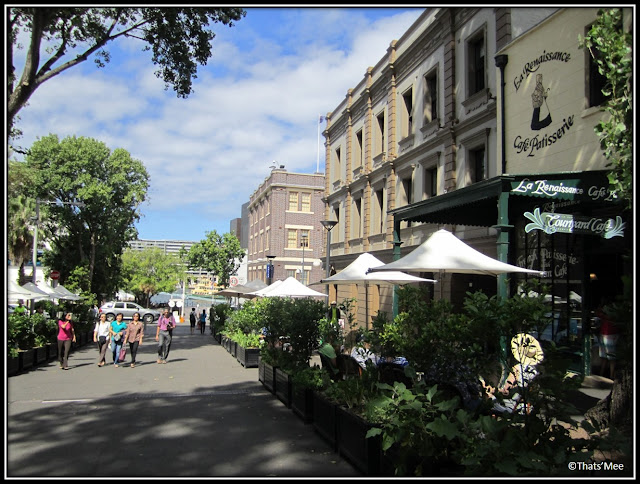 vieux quartier de The Rocks Sydney