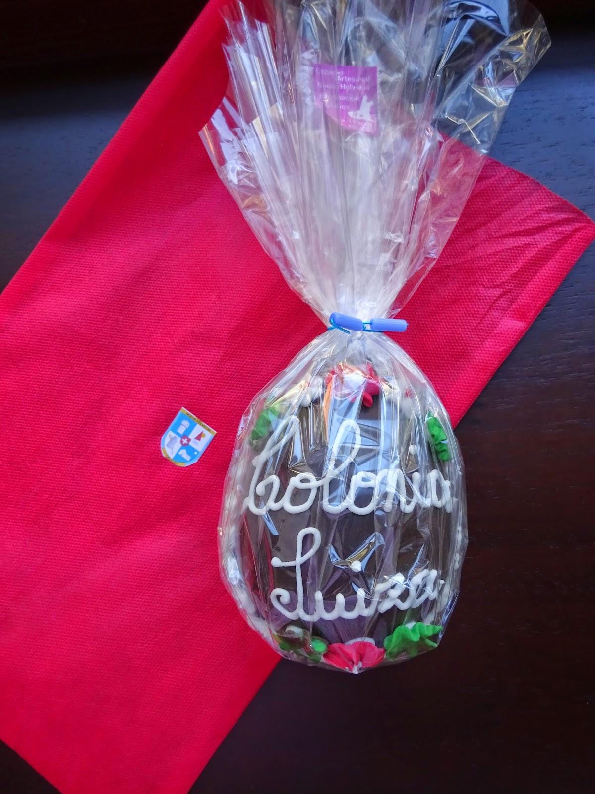 Huevo de Pascua de Colonia Suiza - Movimiento Nuevas Generaciones