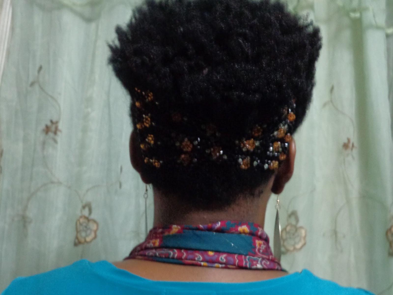 short hairstyles 4c hair